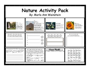 Nature Activity Pack