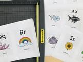 Nature Alphabet Flashcards
