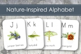 Nature Alphabet- Naturalist Montessori Alphabet