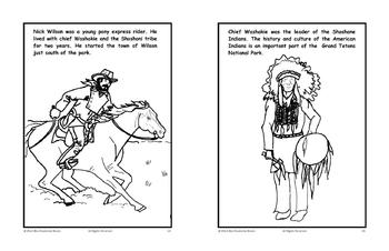 Nature & Animals in the Mountains Coloring Activity Book