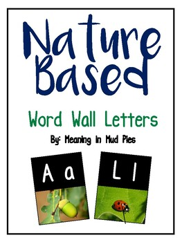 Nature Based Word Wall