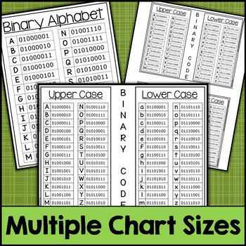 Nature Binary Code STEM Activities