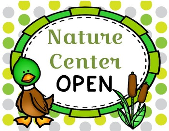 Nature Center Dramatic Play