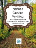 Nature Center Field Trip Writing