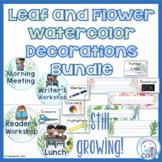 Nature Classroom Decorations Bundle