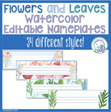 Nature Classroom Decorations Name Tags