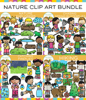 Nature Clip Art Big Bundle