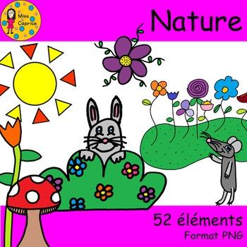 Nature - Clip arts