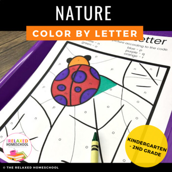 Nature Color By Letter