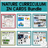 Nature Curriculum in Cards Ever Growing Bundle