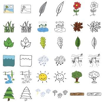 Nature - Digital ClipArt