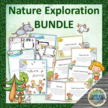Nature Exploration BUNDLE - Journal & Discovery Cards