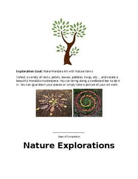 Nature Explorations Activity Guide SAMPLE