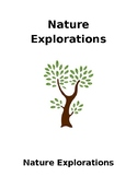 Nature Explorations Activity Guide Full Version