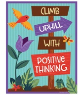 Nature Explorers Climb Uphill with Positive Thinking