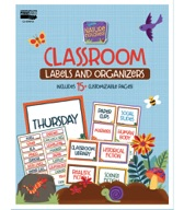 Nature Explorers Labels and Organizers