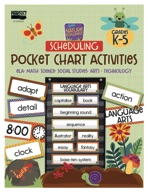 Nature Explorers Scheduling Pocket Chart Activities