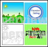 Nature - FREE Background Clip Art