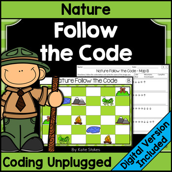 Nature Follow the Code (Coding Unplugged)
