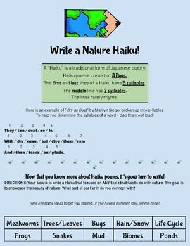 Nature Haiku Scaffold