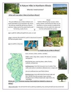 Nature Hike Worksheet