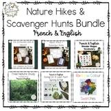 Nature Hikes & Scavenger Hunt BUNDLE (French & English)