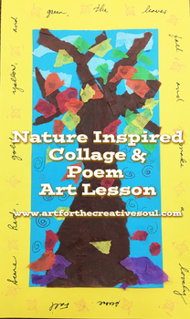 Nature Inspired Collage & Poem Art Lesson