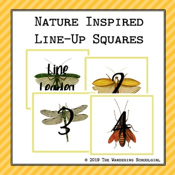 Nature Inspired Line-Up Squares