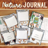 Nature Journal, Logs and Writing Activities- Distance Lear