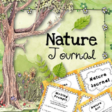 Nature Walk Journal (Outdoor Sensory Writing)