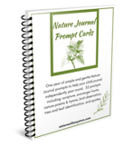 Nature Journal Prompt Cards eBook