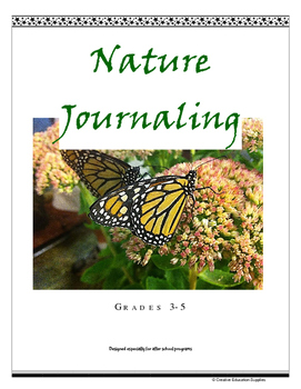 Nature Journaling K-5 (For after school programs)