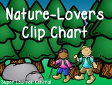 Nature-Lovers Clip Chart for Behavior Management