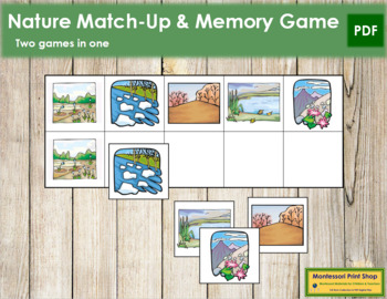 Nature Match-Up and Memory