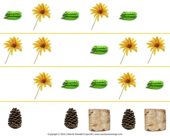 Nature Math Activities Pack