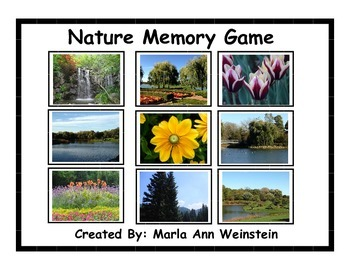 Nature Memory Game
