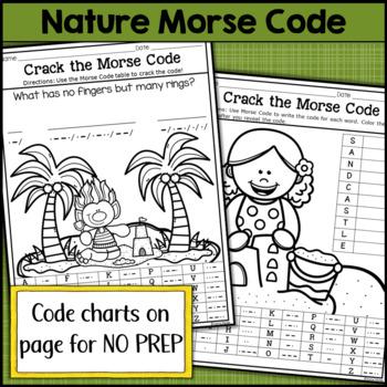 Nature Morse Code