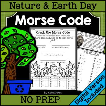 Morse code activity teaching resources teachers pay teachers nature morse code nature morse code fandeluxe Gallery