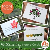 Nature Mother's Day Cards Kids will Love to Make (MOM version)
