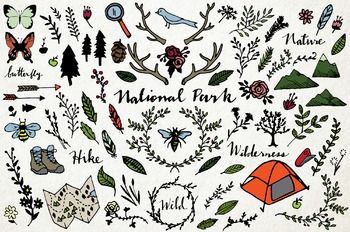 Nature &  National Park Clipart