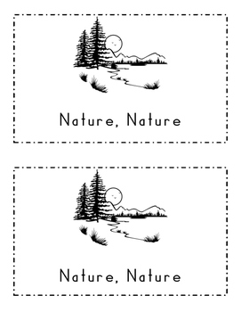 Nature, Nature, What Do You See?