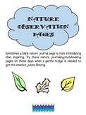 Nature Journal Pages