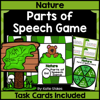 Nature Parts of Speech Game