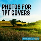 Nature Photos Green for TPT Product Use Covers American Landscape