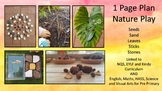 Nature Play 1 Page Plan for Kindergarten and Pre-Primary