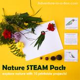 Nature STEAM for Kids: Big Printable Bundle of Games, Acti