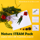 Nature STEAM for Kids: Big Printable Bundle of Games, Activities and Art Project