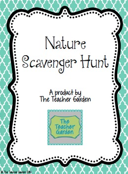 Nature Scavenger Hunt