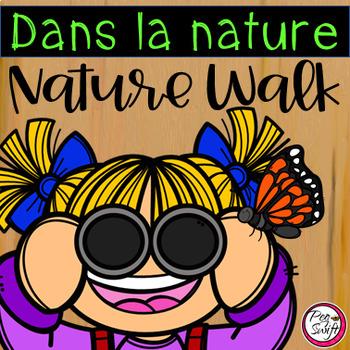 Dans la nature - Nature Walk Scavenger Hunt