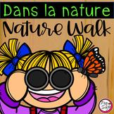 French Nature Walk Scavenger Hunt